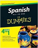 Spanish All-In-One for Dummies [With CDROM] (Paperback)