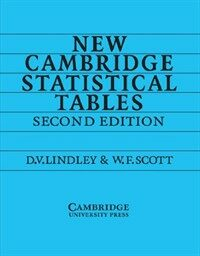 New Cambridge Statistical Tables (Paperback, 2 Revised edition)