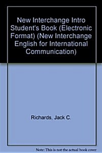 New Interchange Intro Students Book (Electronic Format) (CD-ROM, Student ed)