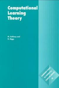 Computational learning theory : an introdution 1st paperback ed. (with corrections)