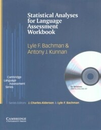 Statistical analyses for language assessment : workbook and CD-ROM