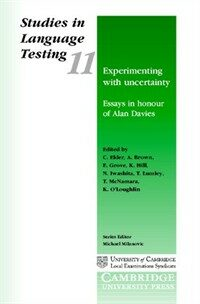Experimenting with uncertainty ; : essays in honour of Alan Davies ; edited by C. Elder ... [et al.]