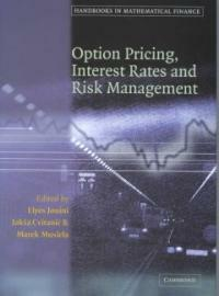 Option pricing, interest rates and risk management