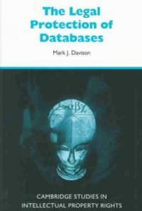 The legal protection of databases