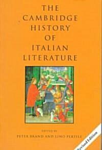 The Cambridge History of Italian Literature (Paperback, 2 Revised edition)
