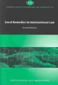 Local remedies in international law 2nd ed