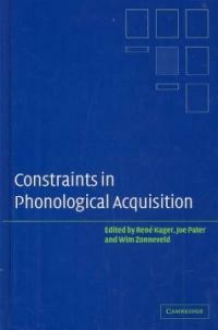 Constraints in phonological acquisition