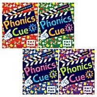 Phonics Cue 1~4 (SB + WB + AB + CD) SET (개정판)