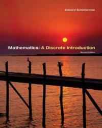 Mathematics : a discrete introduction 2nd ed