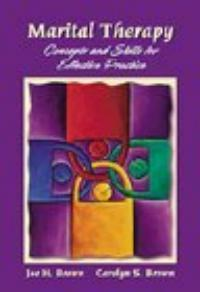 Marital therapy : concepts and skills for effective practice