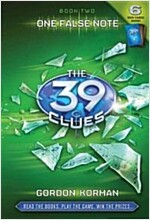 The 39 Clues #2: One False Note [With 6 Game Cards] (Hardcover)