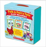 Folk & Fairy Tale Easy Readers: 15 Classic Stories That Are `Just Right` for Young Readers (Boxed Set)