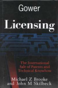 Licensing : [the international sale of patents and technical knowhow]