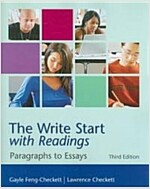 The Write Start with Readings (Paperback, 3rd)