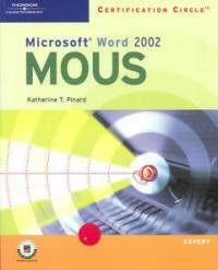 Microsoft Word 2002 : certification circle MOUS