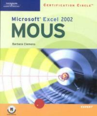 Microsoft Excel 2002 : certification circle MOUS