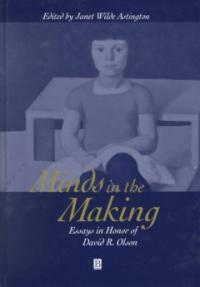 Minds in the making : essays in honor of David R. Olson
