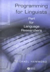 Programming for linguists : Perl for language researchers