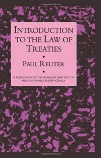 Introduction to the law of treaties