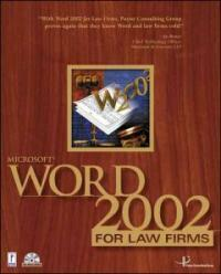 Microsoft Word 2002 for law firms