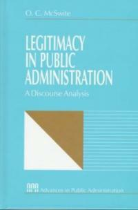 Legitimacy in public administration : a discourse analysis