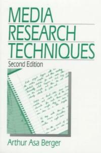 Media research techniques 2nd ed