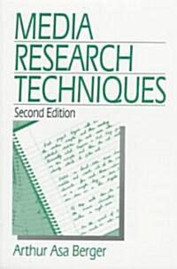 Media Research Techniques (Paperback, 2)