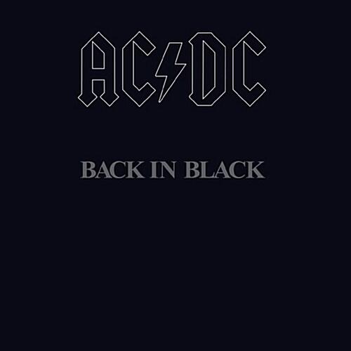AC/DC - Back In Black [재발매]