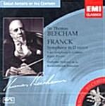 [수입] Thomas Beecham - Cesar Franck / Edouard Lalo / Gabriel Faure : Symphonies Etc.