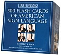 Barrons 500 Flash Cards of American Sign Language (Other)