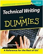 Technical Writing For Dummies (Paperback)