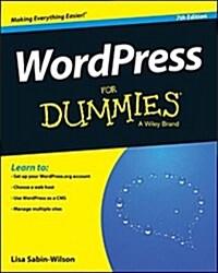 Wordpress for Dummies (Paperback, 7)