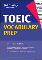 Kaplan Toeic Vocabulary Prep (Paperback)