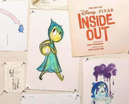 The Art of Disney Pixar Inside Out (Hardcover)