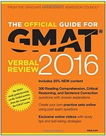 The Official Guide for GMAT Verbal Review 2016 with Online Question Bank and Exclusive Video (Paperback, 4)