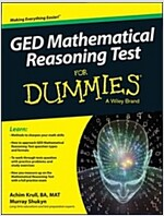 GED Mathematical Reasoning Test for Dummies (Paperback)