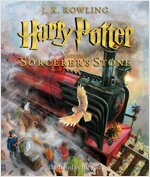 Harry Potter and the Sorcerer's Stone: Illustrated Edition, Volume 1 (Hardcover, 미국판)