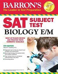 Barron's SAT Subject Test Biology E/M (Paperback, 5)
