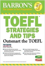 TOEFL Strategies and Tips with MP3 CDs: Outsmart the TOEFL IBT [With MP3 CD] (Paperback, 2)