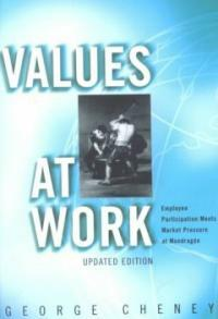 Values at work : employee participation meets market pressure at Mondragon Updated ed