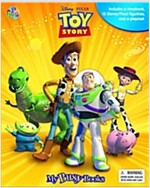 My Busy Books : Toy Story (미니피규어 12개 포함) (Board book)