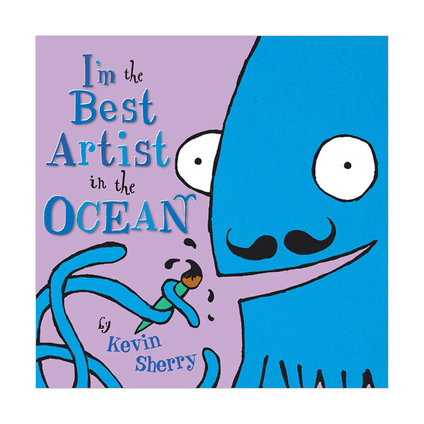 Im the Best Artist in the Ocean! (Hardcover)