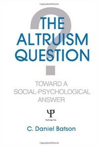 The altruism question : toward a social psychological answer