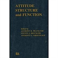 Attitude Structure and Function (Paperback)