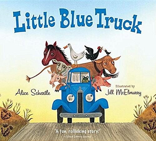 Little Blue Truck Board Book (Board Books)