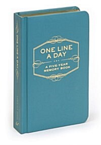 One Line a Day: A Five-Year Memory Book (Hardcover)