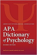 APA Dictionary of Psychology(r) (Hardcover, 2)