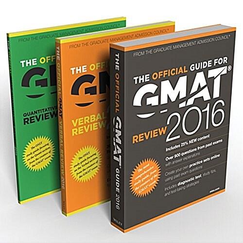 Gmat 2016 Official Guide Bundle (Paperback)