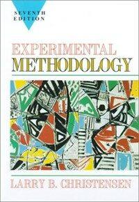 Experimental methodology 7th ed