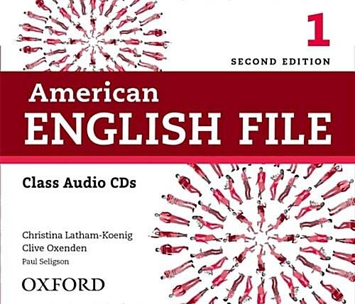 American English File : 1 CD (4) (CD-Audio, 2nd Edition)